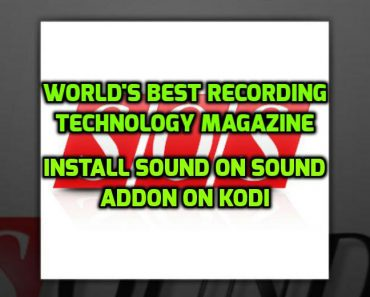 Sound On Sound Addon Kodi