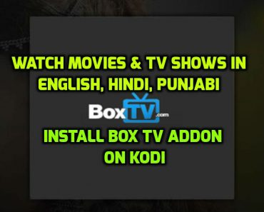 Box TV Addon Kodi