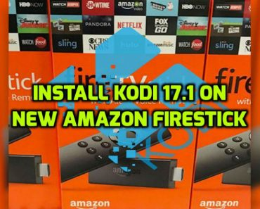 Kodi 17.1 on Firestick