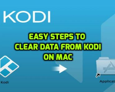 clear data from kodi on Mac