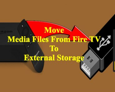 Move files from Fire TV to USB