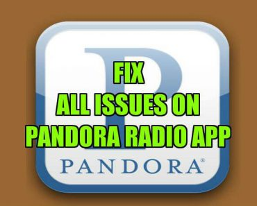 fix pandora radio app issue