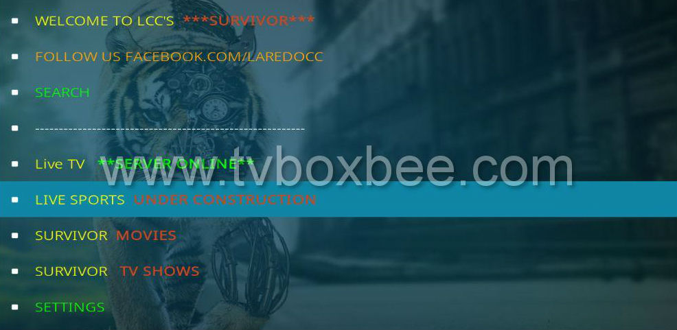 how to get live tv from guyana addons for kodi