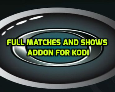 Full Matches And Shows Addon Kodi