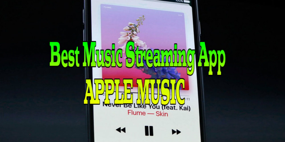 Best Music Streaming App on Android – Apple Music