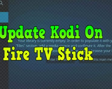 how to update kodi on firestick, kodi on firestick, upgrade kodi on firestick, how to upgrade kodi