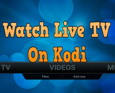 watch live tv on kodi, how to watch live tv on kodi, kodi live tv