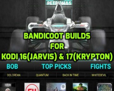 Bandicoot Builds for kodi 16 jarvis