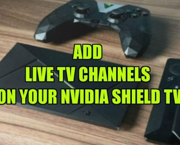 live IPTV on NVIDIA Shield TV