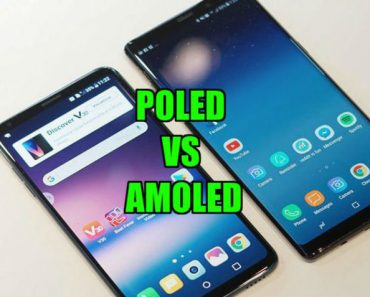 POLED and Amoled