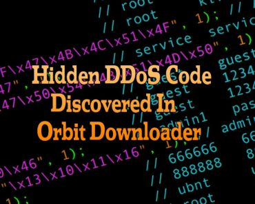 hidden ddos code discovered in orbit downloader, ddos code in orbit downloader