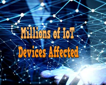 million of loT devices affected, malware affected millions of devices