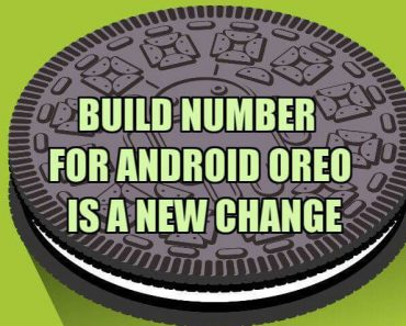 new build number for android oreo