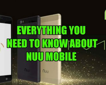 features of Nuu mobile phones