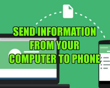 transfer files from your computer to phone