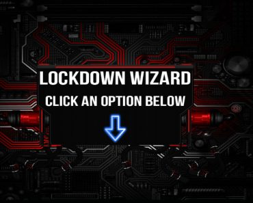 Lockdown wizard on Kodi