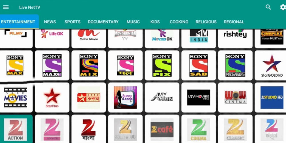 Live NetTV APK For Android