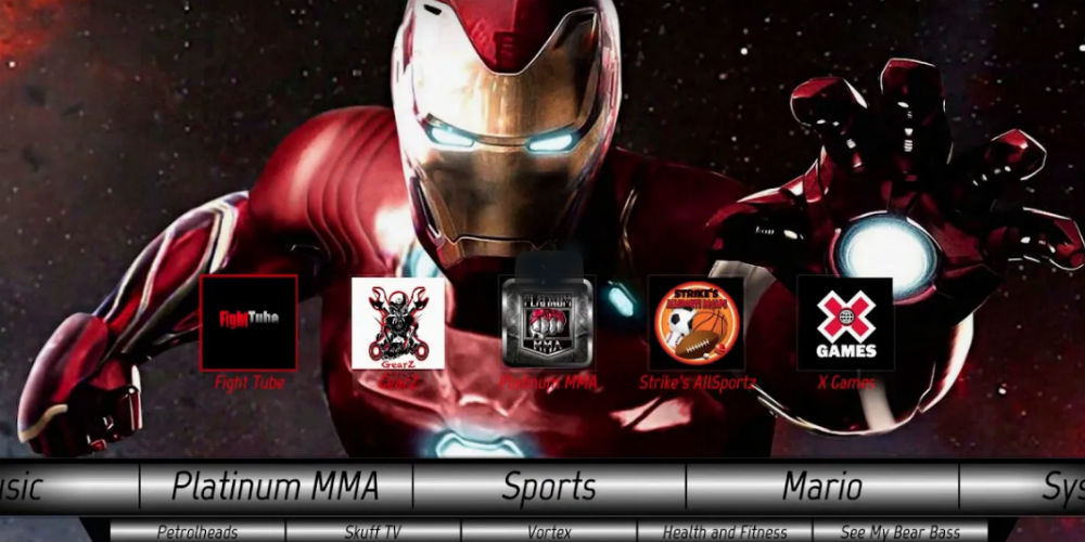 Marvel Build Kodi