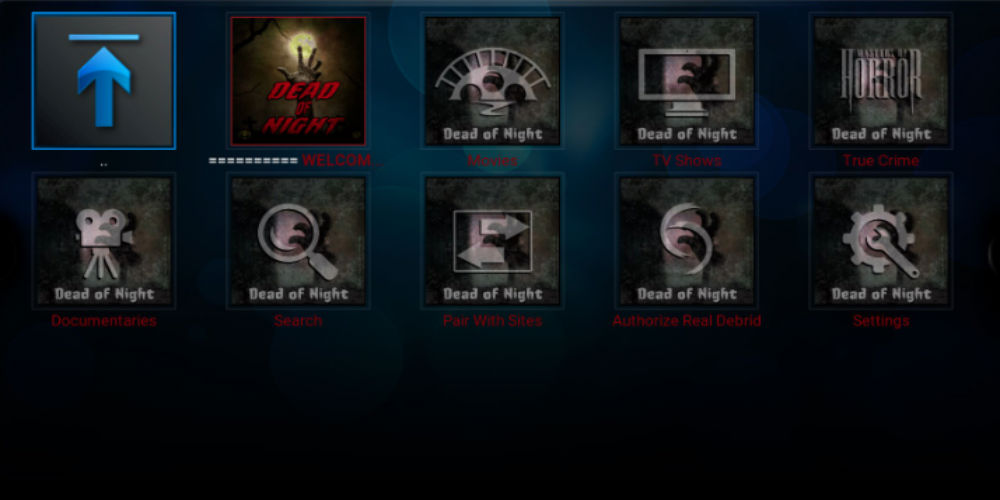 Dead Of Night Kodi Addon