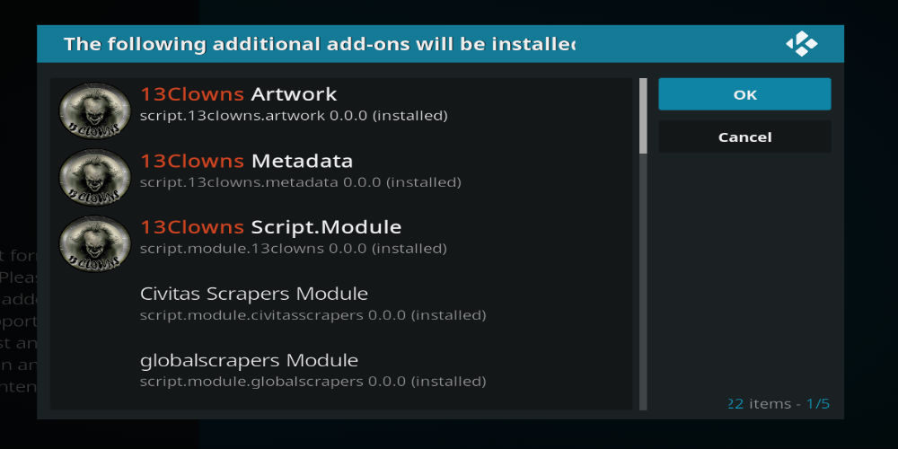 Allow Dependencies On Kodi 18